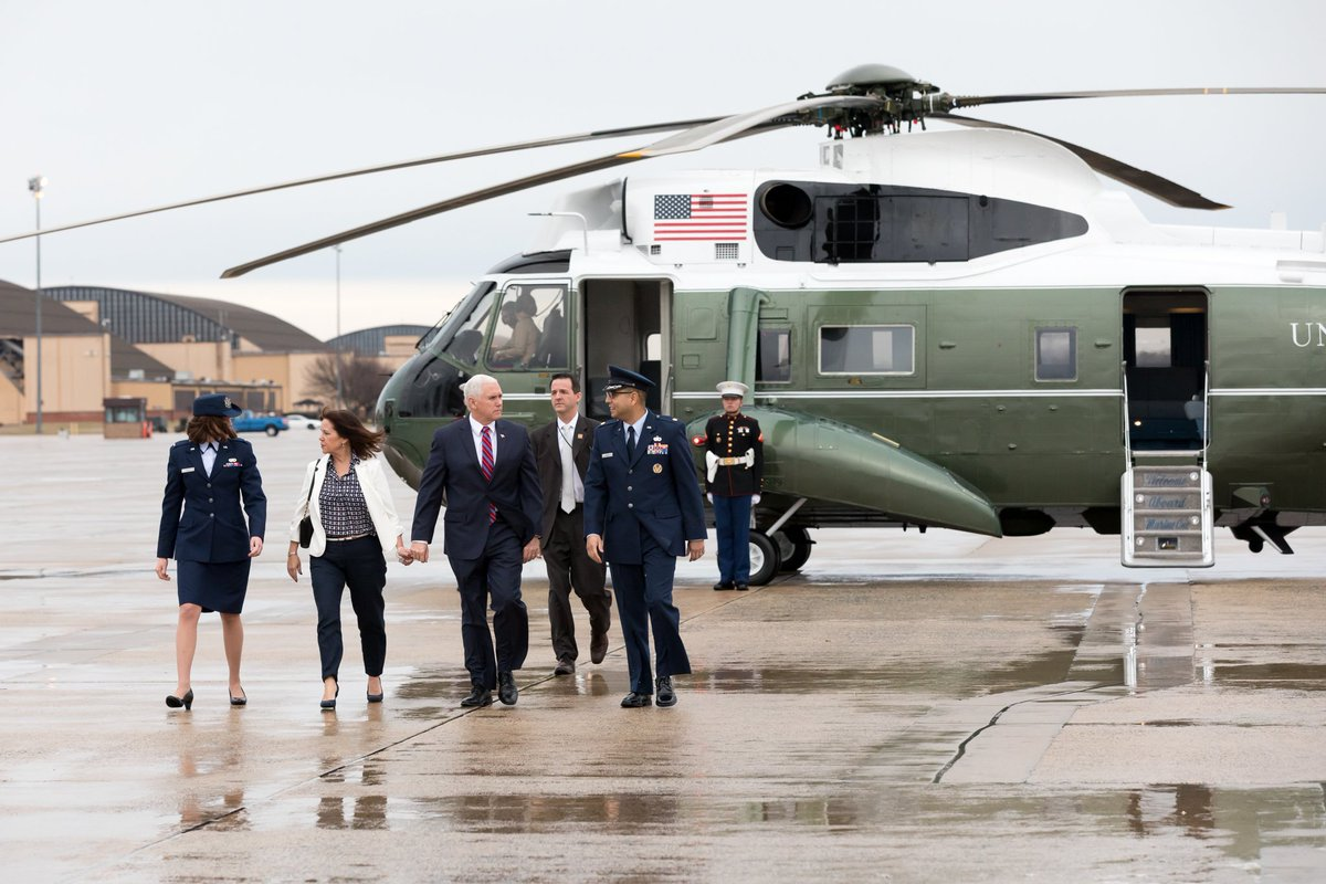 Heading to Texas to survey our nation's border with @DHSgov @SecNielsen and to be briefed on potential security threats by U.S. Customs & Border Protection. It's a matter of vital national security that we secure our border.