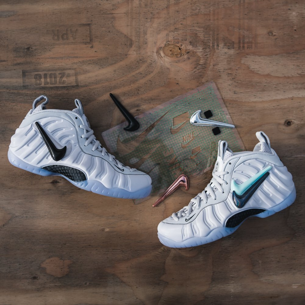 9e22ebec463 ... best price kicksusa on twitter swoosh pack nike foamposite pro now  available online in select stores
