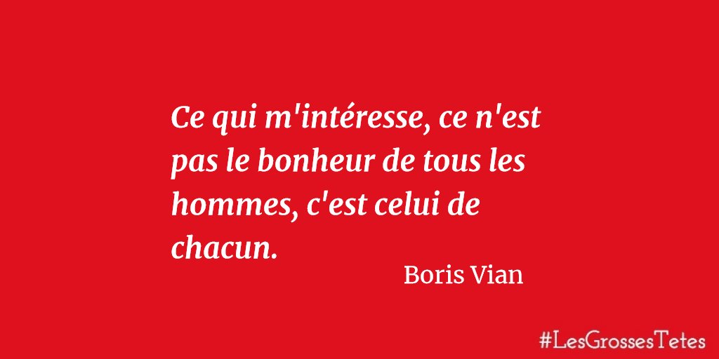 Boris Vian Citation écrivain Français Boris Vian Les
