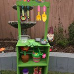 Check out this adorable CHILD SIZED Wellie Wishers Mud Pie Kitchen that was inspired by our DIY doll version!  Thanks to reader, Jeanna, for her how-to.  https://t.co/AvrSuaSwcK #welliewishers #americangirl #dollcrafts #kidcrafts
