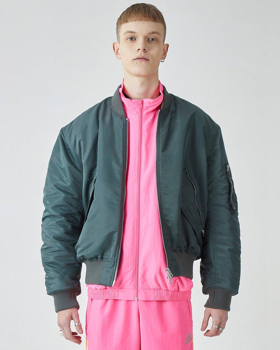 f8b527ead Track top and pants by gosha rubchinskiy, makio bomber jacket from ...