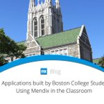 Discover how @BostonCollege students learn to #collaborate using #lowcode development and an #agile process to build 3 #apps for their semester-end project: https://t.co/5PGupcTSZr