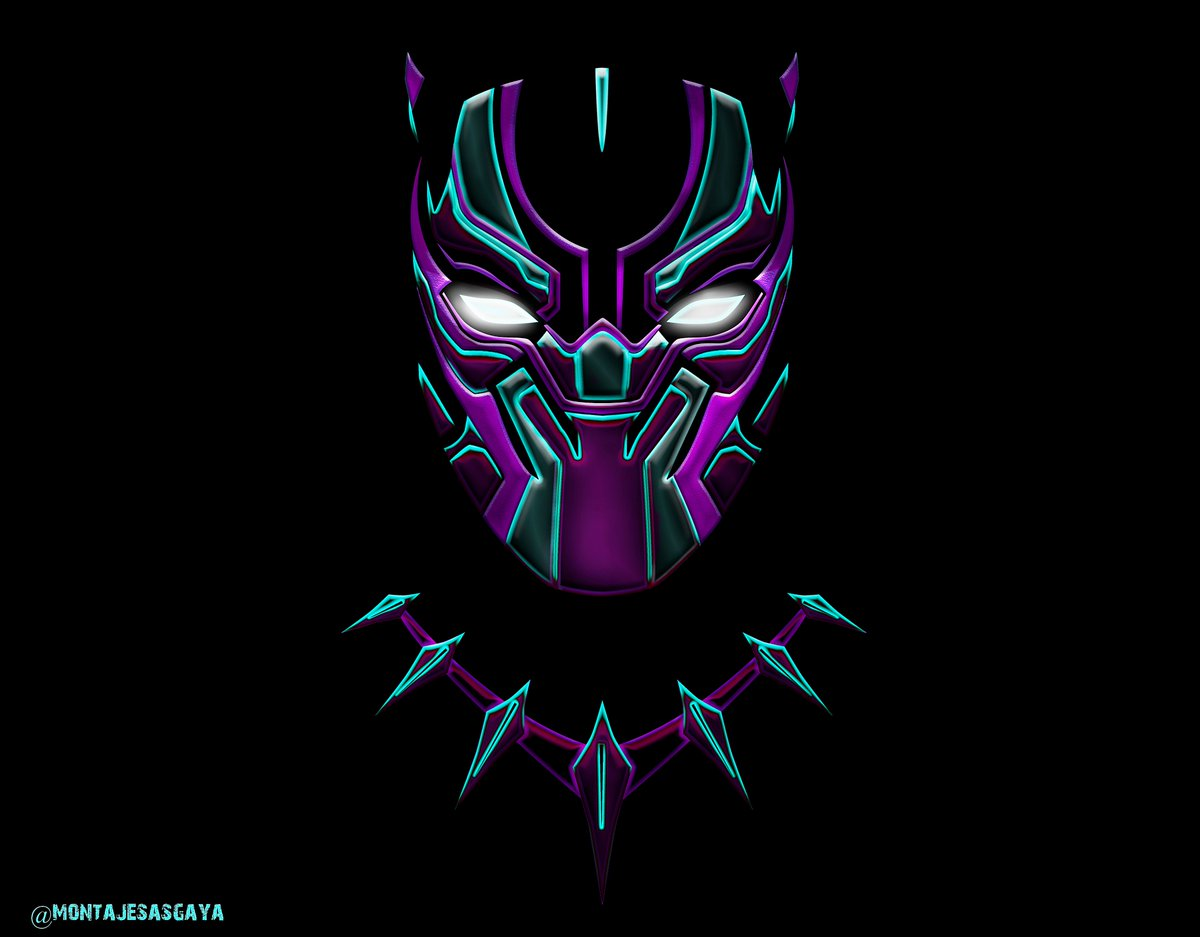 "black panther wallpaper  Montajes Asgaya ☄ on Twitter: ""Wallpaper Black Panther ..."