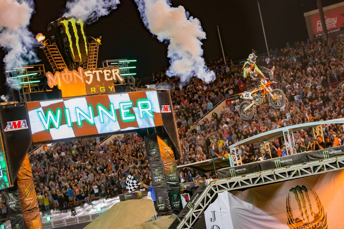 Supercross Returns To Tampa Next Weekend...