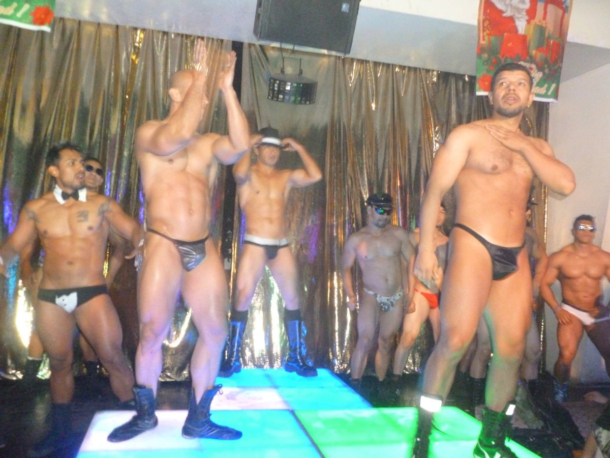 hombres strippern