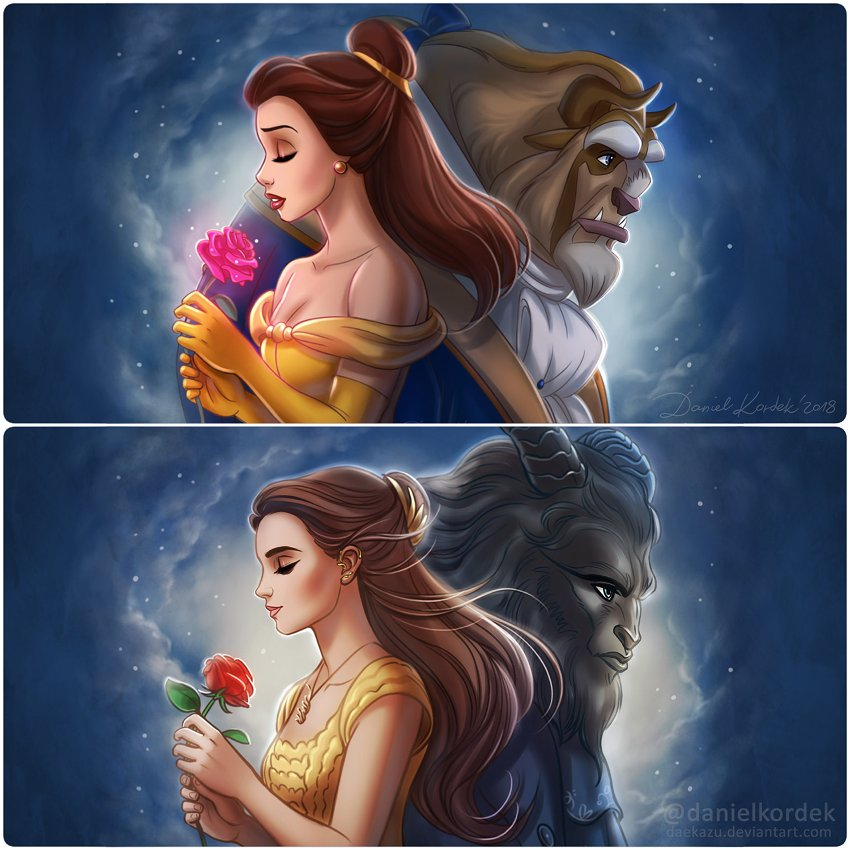beauty and the beast full movie english version