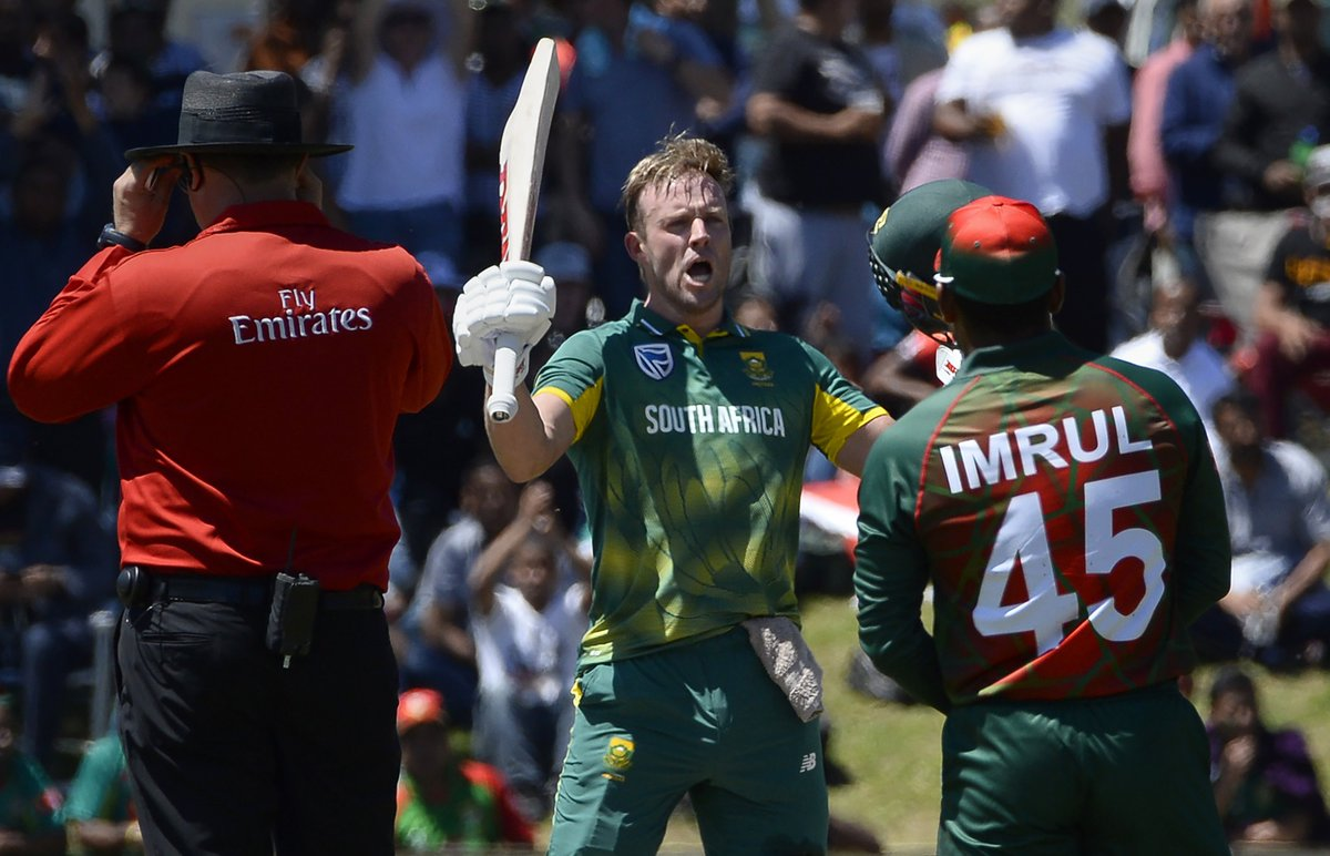 Fastest ODI fifty (16 balls) ✅ Fastest ODI century (31 balls) ✅ Fastest ODI 150 ✅   Happy Birthday to South Africa's Mr. 360, the fantastic @ABdeVilliers17!