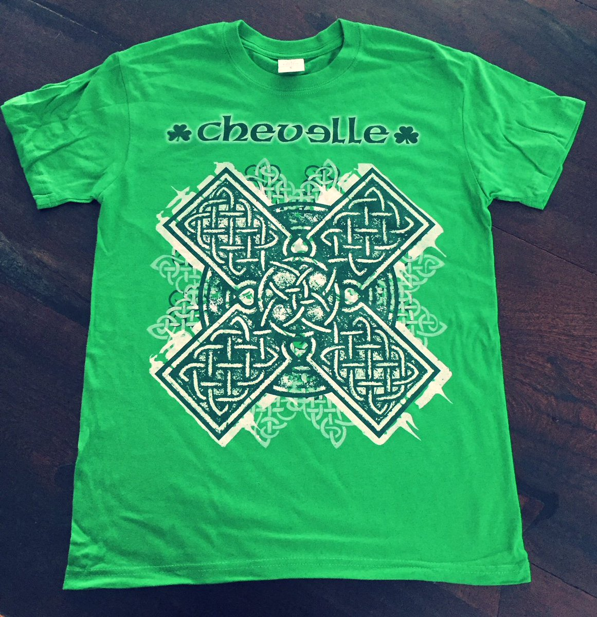 Back by popular demand and in very limited supply- Chevelle St Patty's day tee!!  Get yours before the big party on March 17th- while stock lasts.  getsomemerchandise.com/M-STPATTY2018-…