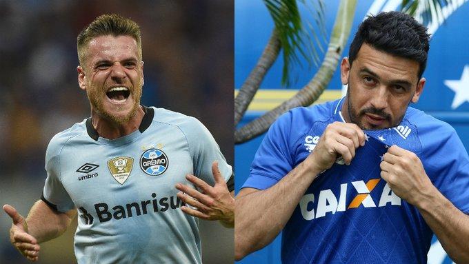 Campeões da Libertadores pelo @Gremio, Edílson e Ramiro são os convidados do @ResenhaESPN domingo, 22h (de Brasília), em ESPN Brasil e WatchESPN. @Cruzeiro @plihalespn. Saiba mais e programe-se em https://t.co/mKR4yVHWct