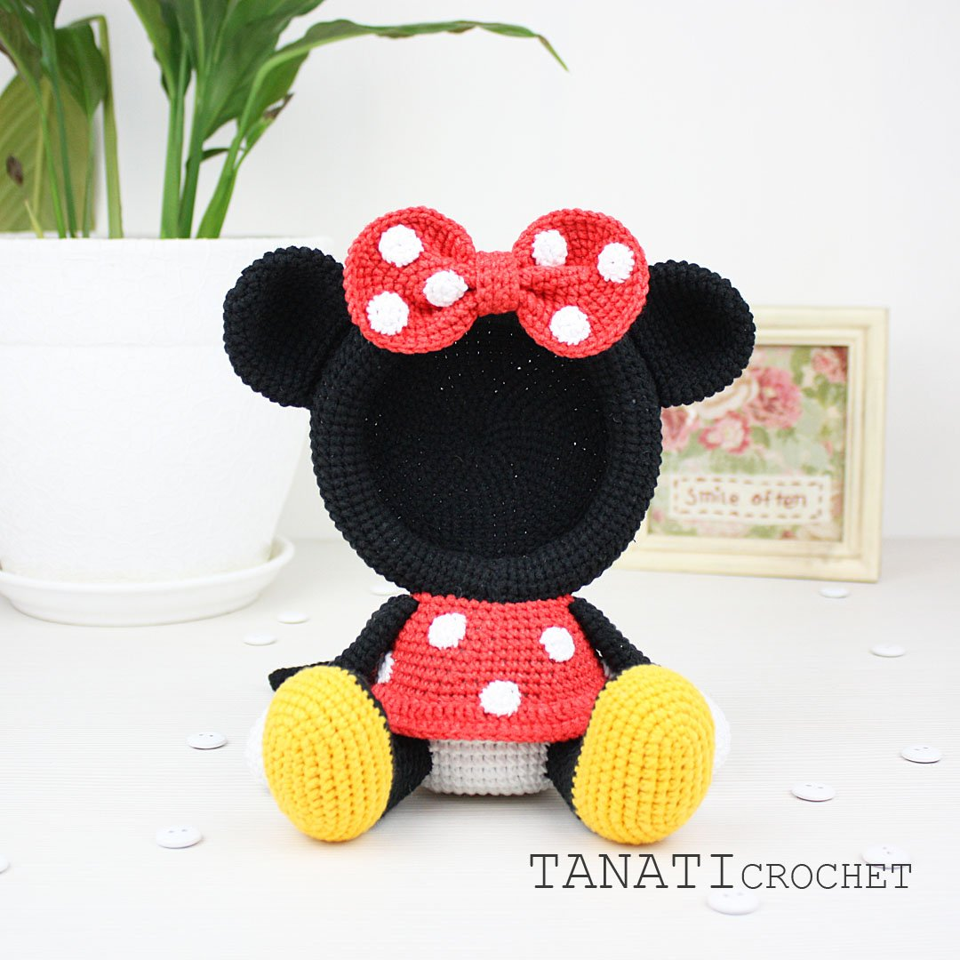 Beautiful Skills - Crochet Knitting Quilting : Minnie Mouse ... | 1080x1080
