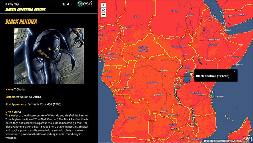 Esri Story Maps On Twitter Headed To See Blackpanther This