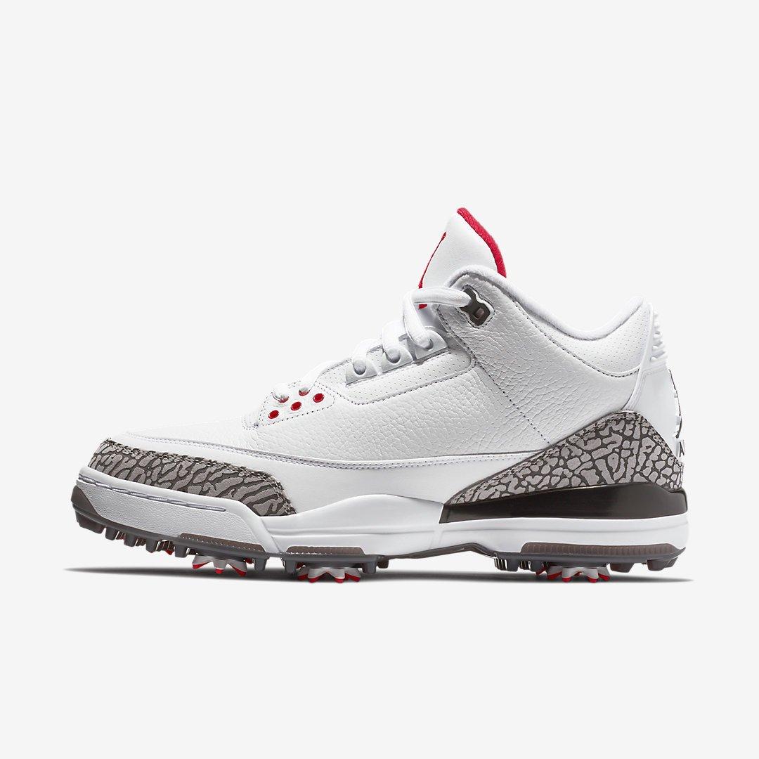 reputable site 64396 f1d48 Air Jordan 3 GOLF via Nike US PRM Brown http   bit.ly 2EwtUch  White Cement http   bit.ly 2nYQEXY pic.twitter.com ooexThKvFb
