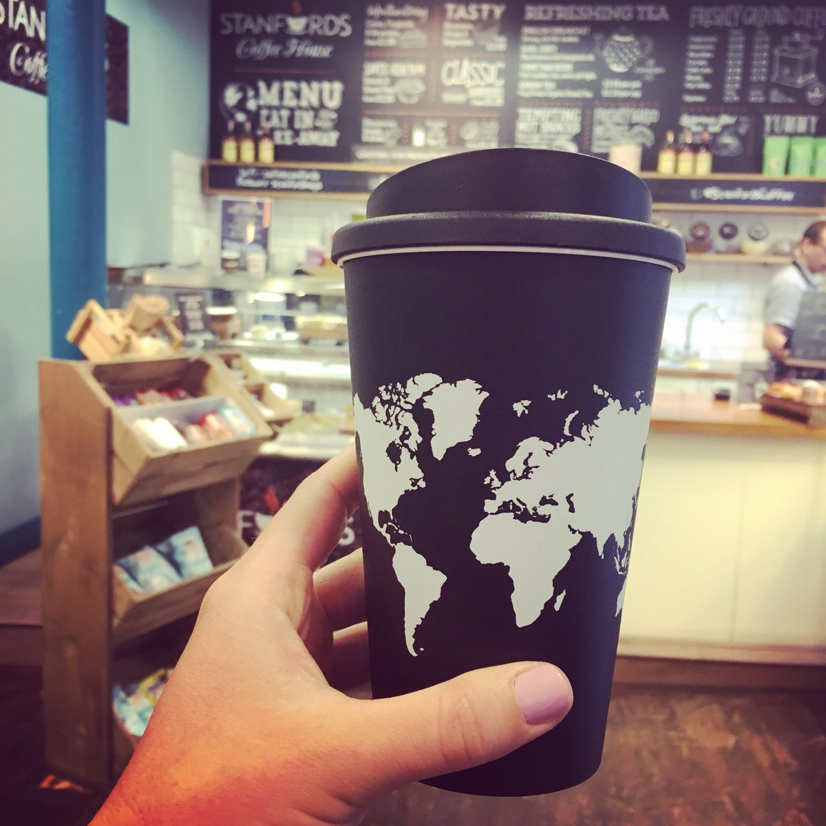 Stanfords on twitter for every re usable stanfords world map for every re usable stanfords world map travel mug sold we donate 50p to explorersagainstextinction realafrica gumiabroncs Choice Image