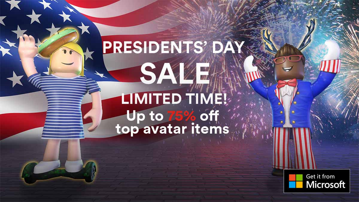 Presidents Day Sale Roblox