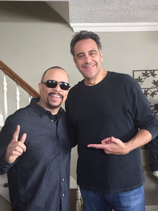 Here s two hardworking, talented, intelligent and super nice men together. Happy 60th birthday Ice T!