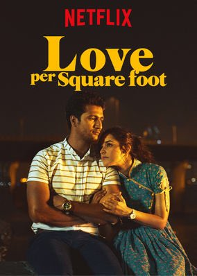 Love Per Square Foot (2018) Hindi Movie 480p Netflix HDRip x264 450MB