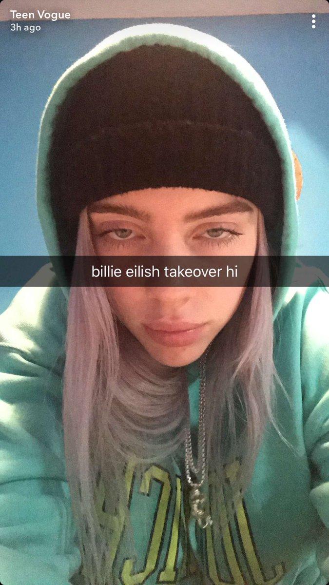 billie eilish updates on Twitter