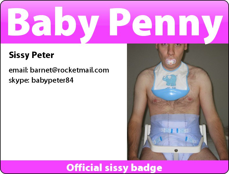 Though I needed a proper badge :) #sissy...