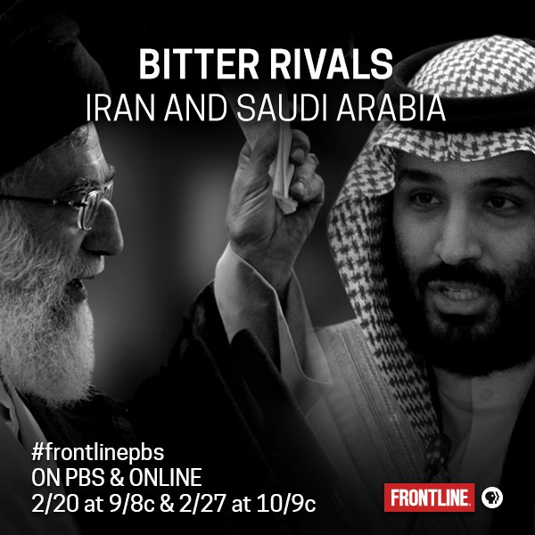 Get the inside story behind a dangerous feud that has plunged the Middle East into unprecedented levels of violence, starting Feb 20 on @frontlinepbs: to.pbs.org/2o6HfNq