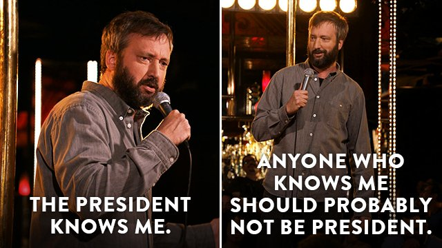 .@tomgreenlive tangos with Trump, tonigh...