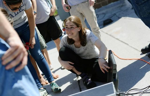 test Twitter Media - Congrats to Astronomy and College of Integrative Studies Professor Meredith Hughes on being named a Cottrell Scholar! https://t.co/6B2FCac672 #FacultyFriday #SciFri https://t.co/hucFhxW3Ze