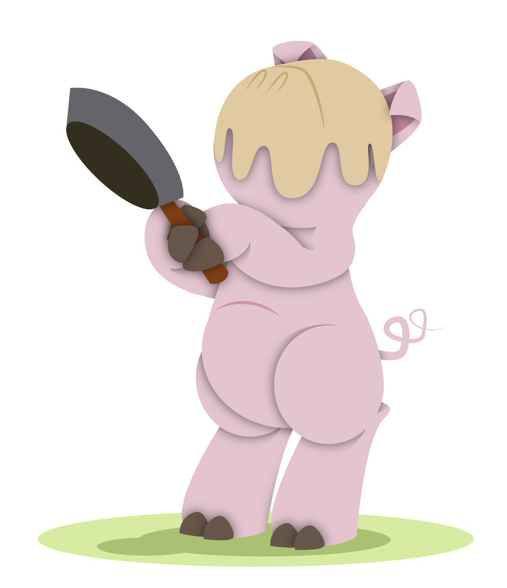Ashamed to admit that I totally forgot it was #pancakeday2018 last tuesday! #BotoPink #colour_collective #vectorart #cartoon #illustration<br>http://pic.twitter.com/O7ruz2nHpN