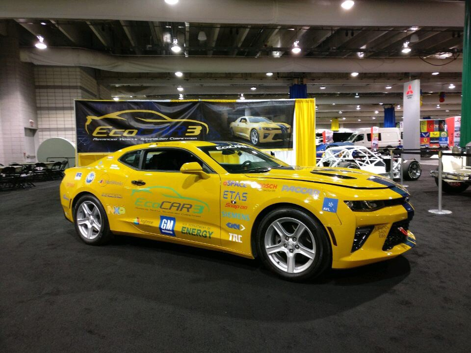 WVU EcoCAR On Twitter We Made It In The Books The First Day At - Pittsburgh international car show