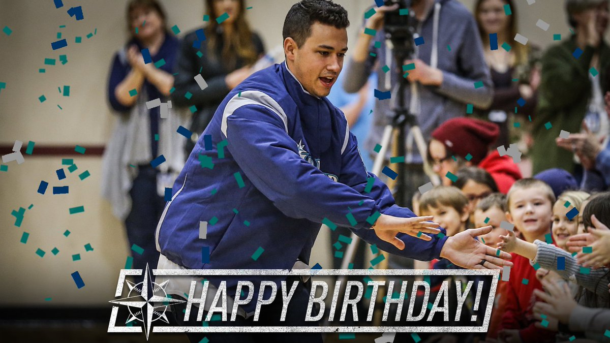Happy Birthday to Mariners lefty and for...