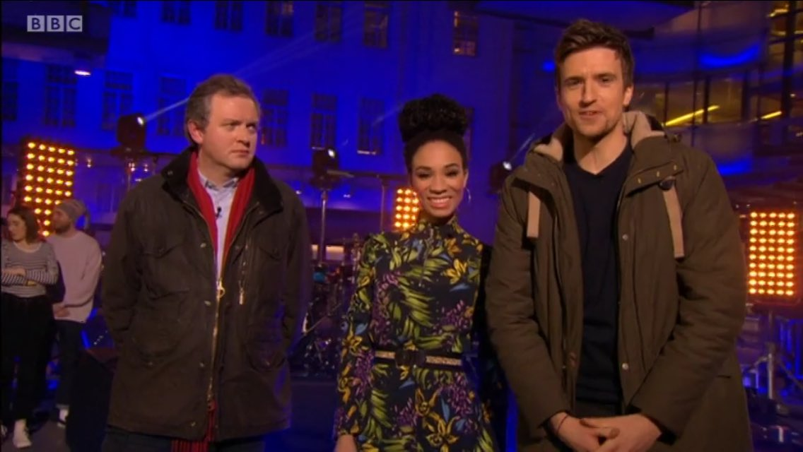 RT @ahchrissawyer: Don't worry, @gregjames is just dropping in on The One Show, he's not stopping. https://t.co/KY6nr8W20E