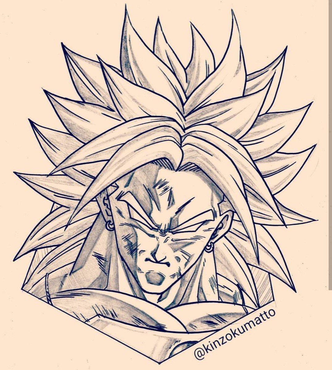 Kinzokumatto on twitter nouveau tarif pour les commissions le portrait de votre perso - Dessin de vegeta ...