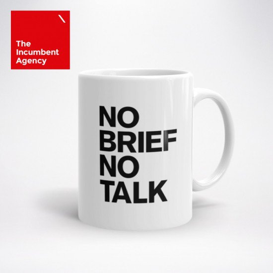 A mug good for coffee, great for briefings https://t.co/G65fx9lEjP