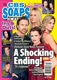Want a peek at what will happen next week on #YR and #boldandbeautiful? Pick up the new issue, on sale now!
