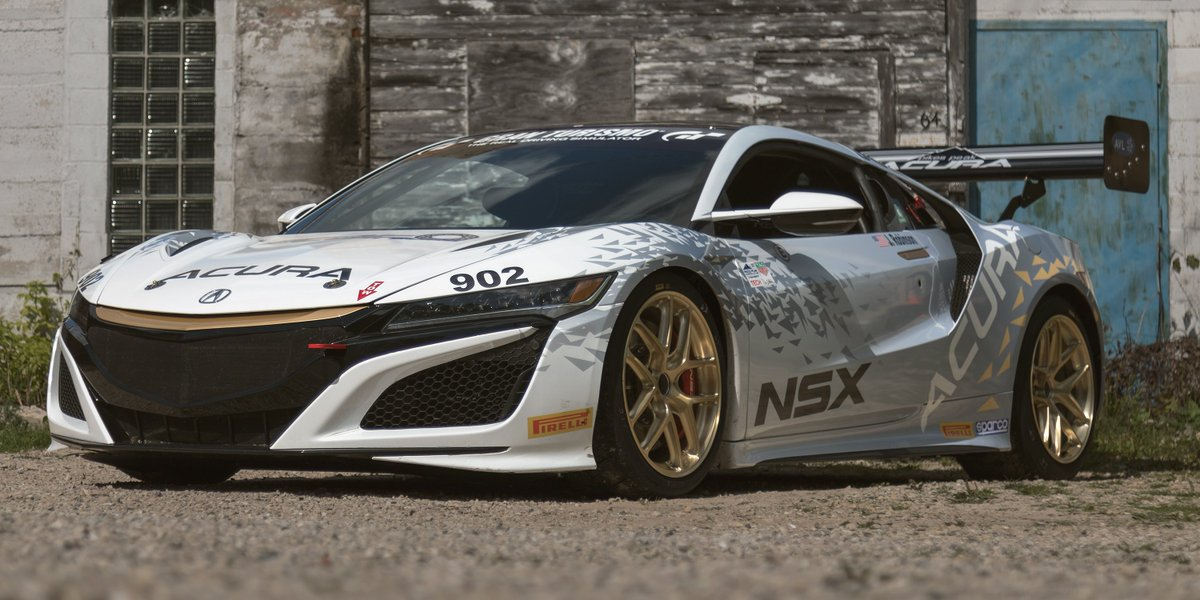 Always Looking For A Challenge, Engineer James Robinson Took His #NSX To  The Next Level In A Race To The Summit Of Pikes Peak International Hill  Climb ...