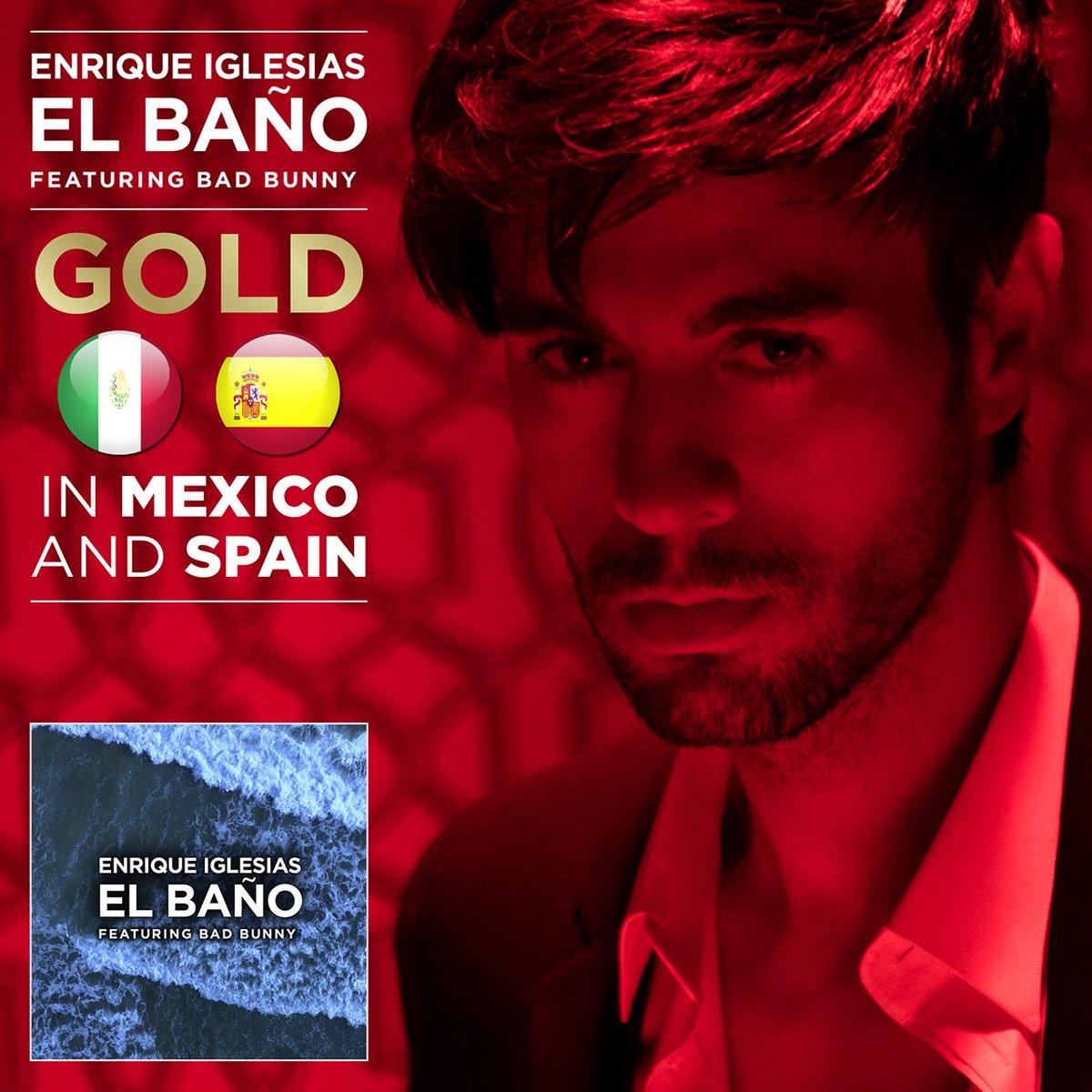 ¡#ElBaño de @enriqueiglesias ft. @badbun...