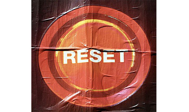 Ctrl + 0 resets the view in your browser...