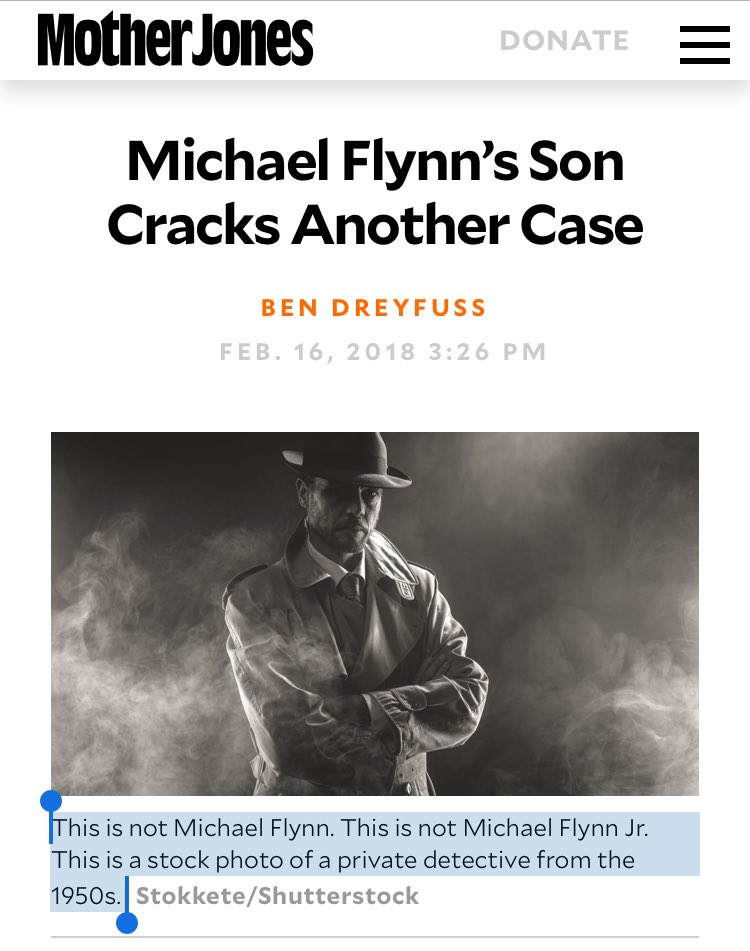 """""""Michael Flynn Jr. is out every day on the mean streets of Twitter, cracking cases, solving crimes"""" https://t.co/9jOGOKnH69"""