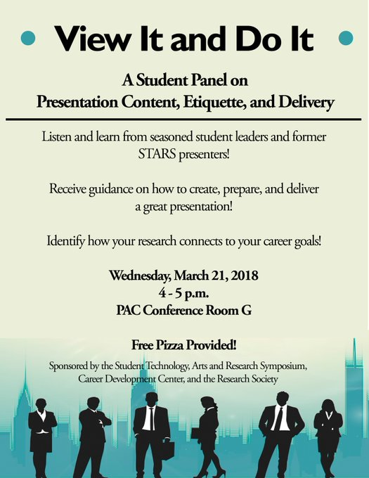 RT @UIS_URSP: #UISedu View It and Do It covers presentation Content, Etiquette and Delivery, taught by seasoned student leaders and former…