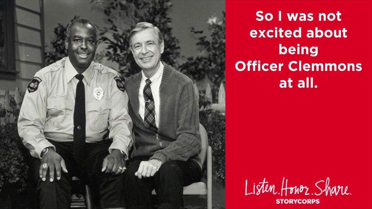 Storycorps On Twitter 50 Years Ago Today Mister Rogers Neighborhood Made Its Debut Nationwide Francois Clemmons Who Played Officer Clemmons Making Him The First African American Actor To Have A Recurring
