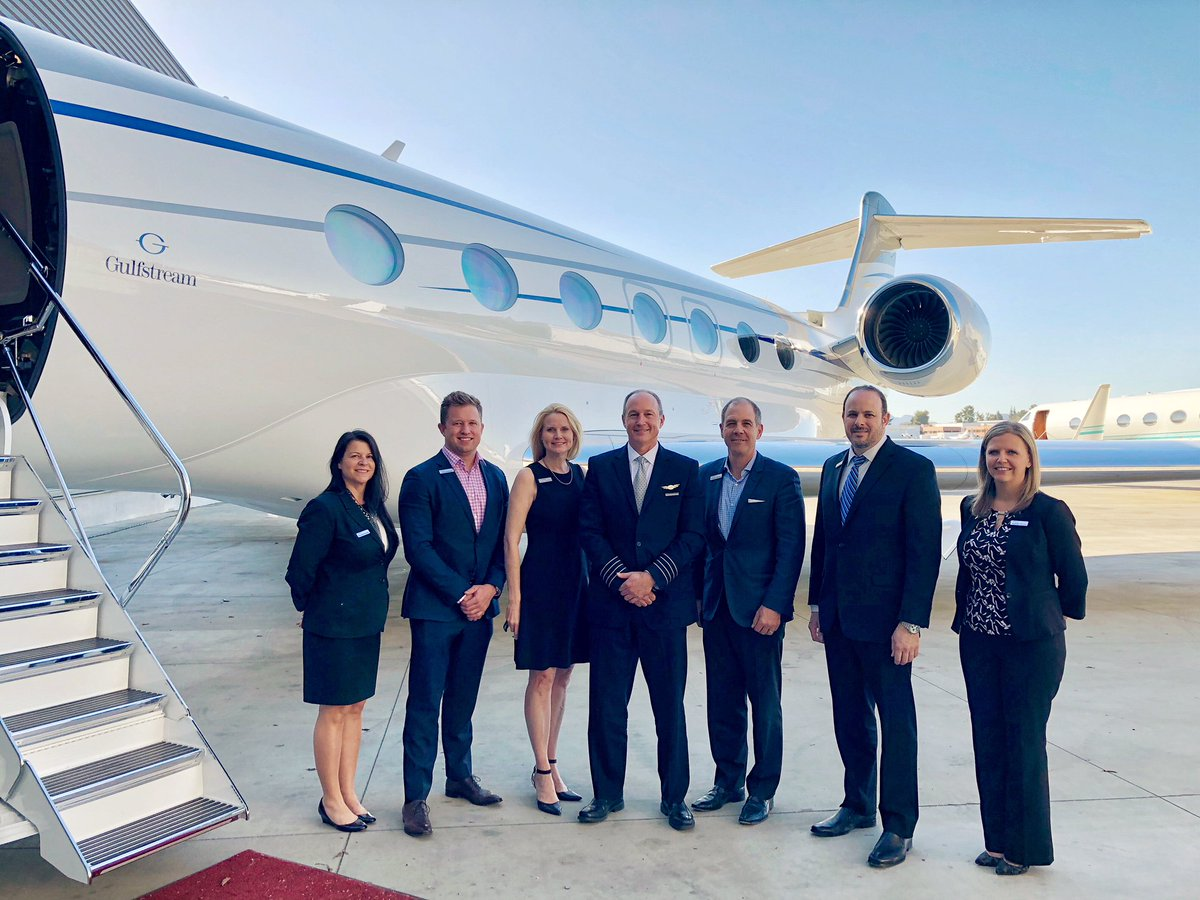 """Clay Lacy Aviation on Twitter: """"Thank you to the @GulfstreamAero team for  debuting the G600 at #ClayLacy VNY. #privatejet #newaircraft #bizav… """""""