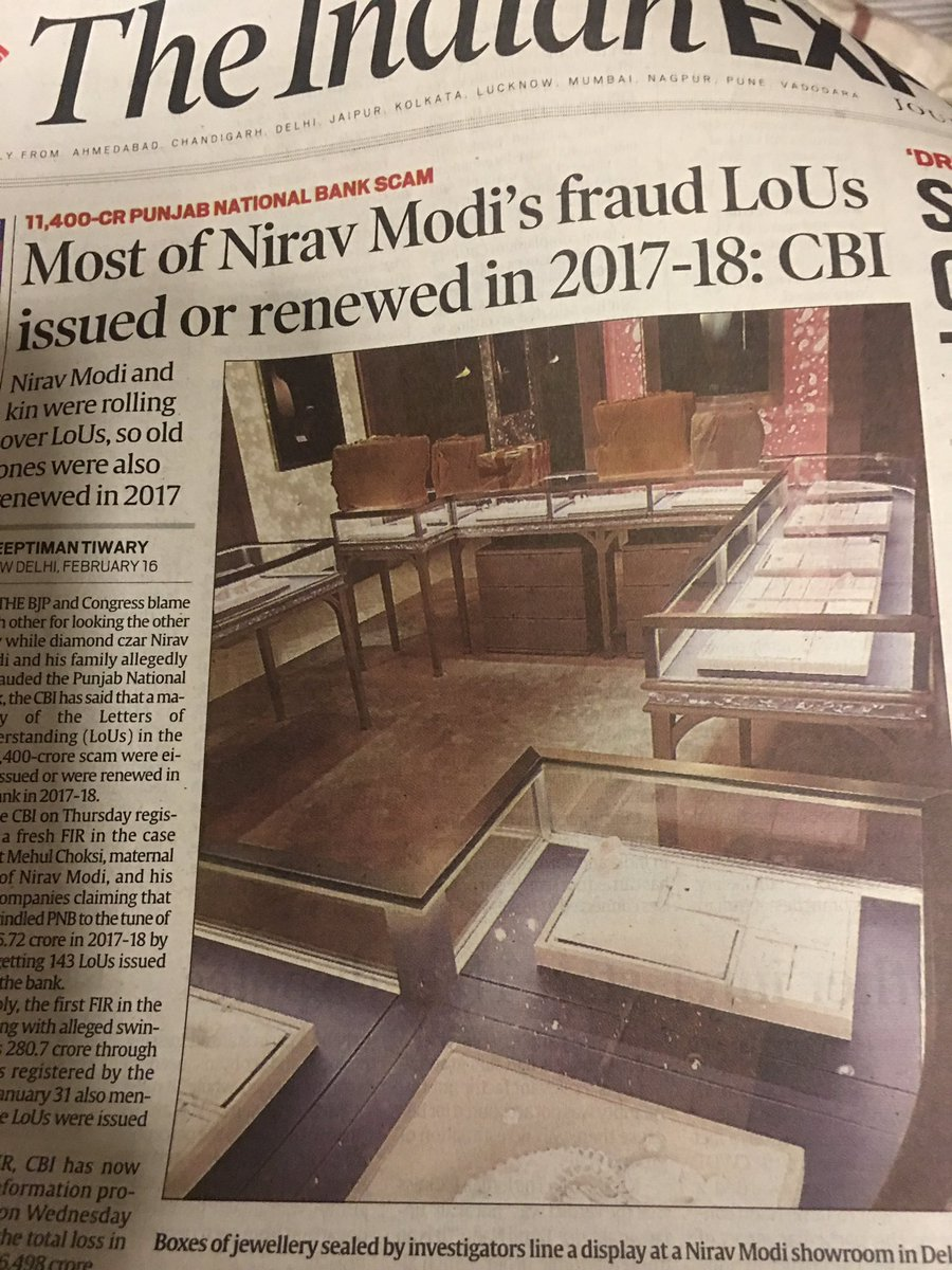 Dear @PMOIndia you own this scam. Maybe...