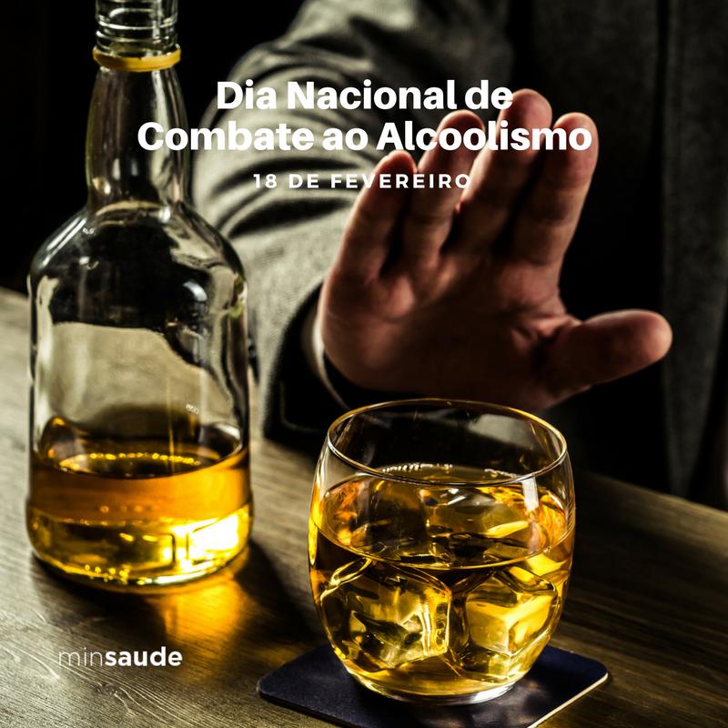 Hoje é o Dia Nacional do Combate ao Alcoolismo. O abuso e a dependência de álcool estão entre os mais graves problemas de saúde pública.  a droga/substância mais consumida. O quadro de dependência atinge 10,5% dos homens e 3,6% das mulheres.  #CombateAoAlcoolismo