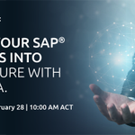 Can you make the bold step to #S4HANA, and still ensure your costs are controlled and your business systems' integrity is maintained? Hear our recommendations: register for our live webinar on 28 February. https://t.co/uGXg6svxjS
