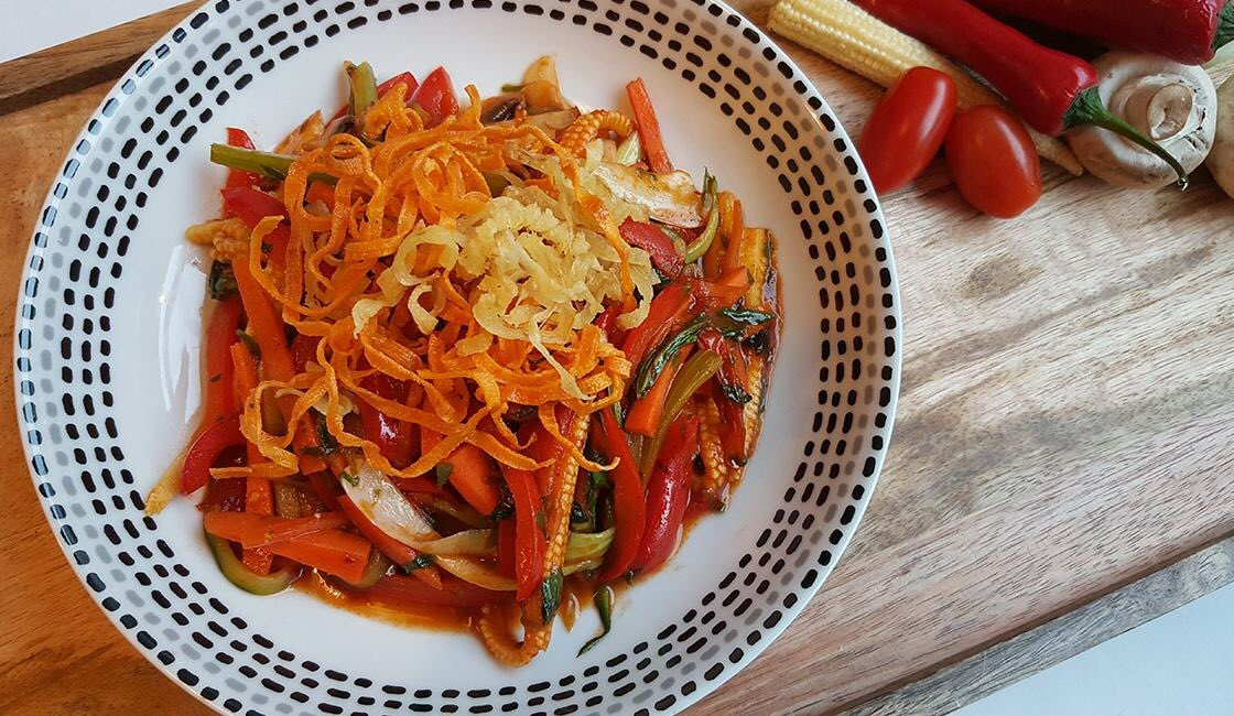 Happy Chinese New Year! Why not celebrate with our delicious Chinese inspired Szechuan and Tomato Stir Fry? This is the ultimate low protein Friday Night Fakeaway! #pku #pkurecipes The recipe can be found here:  https://www. vitafriendspku.com/en/recipes/sze chuan-and-tomato-stir-fry/ &nbsp; … <br>http://pic.twitter.com/9Ux9ANSQgu