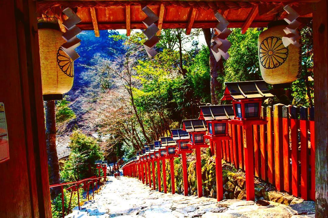 京都の『貴船神社』