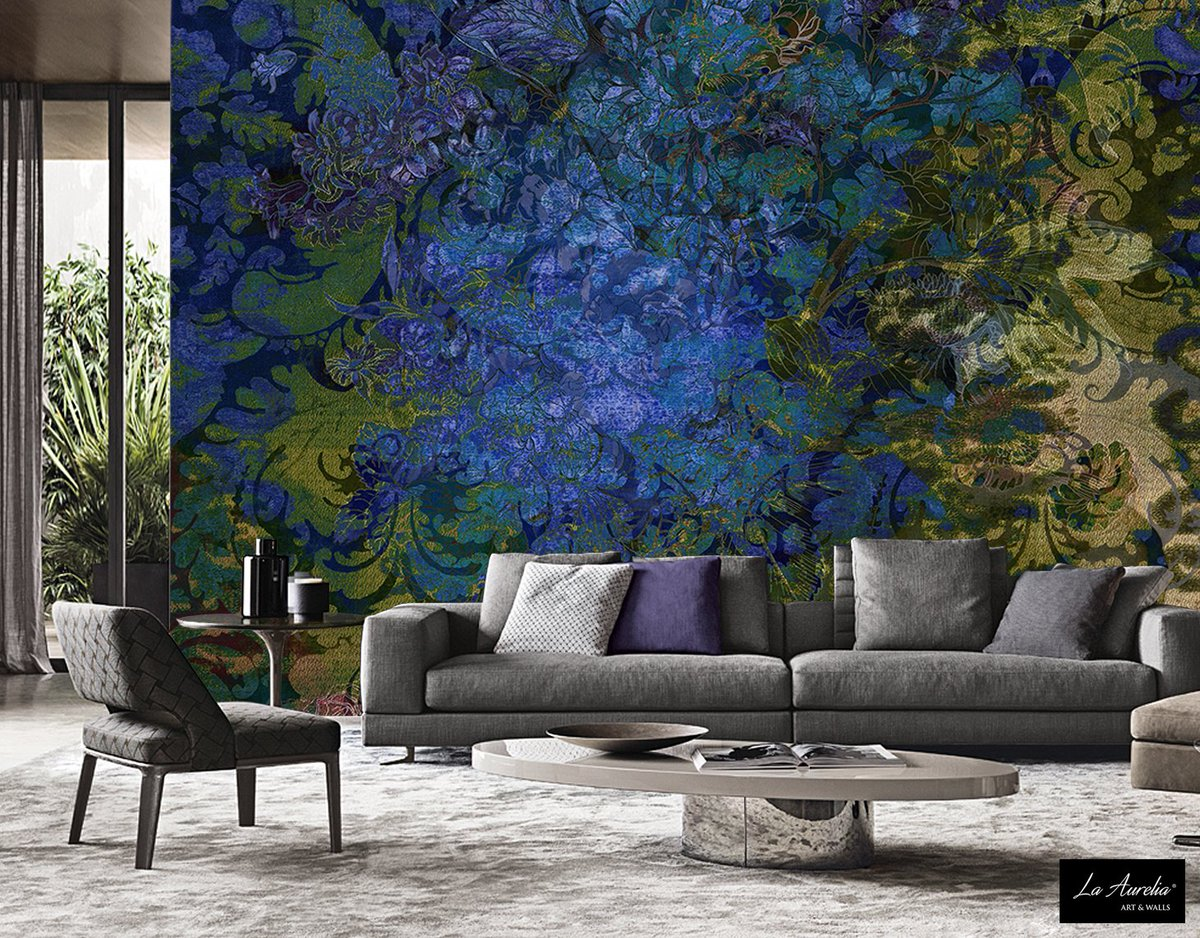 "Impressive Walls... (Design: 'Divine' Wallpaper Collection 2018: 'Prestige') More info:  http:// ow.ly/z1AC30hjYvX  &nbsp;       ""Dress your walls with style"" #cartadaparati #papierpeint #wallpaper #papelpintado #wallcovering #design #walldecoration #interiordesign  #behang #LaAurelia<br>http://pic.twitter.com/Sovut2323w"