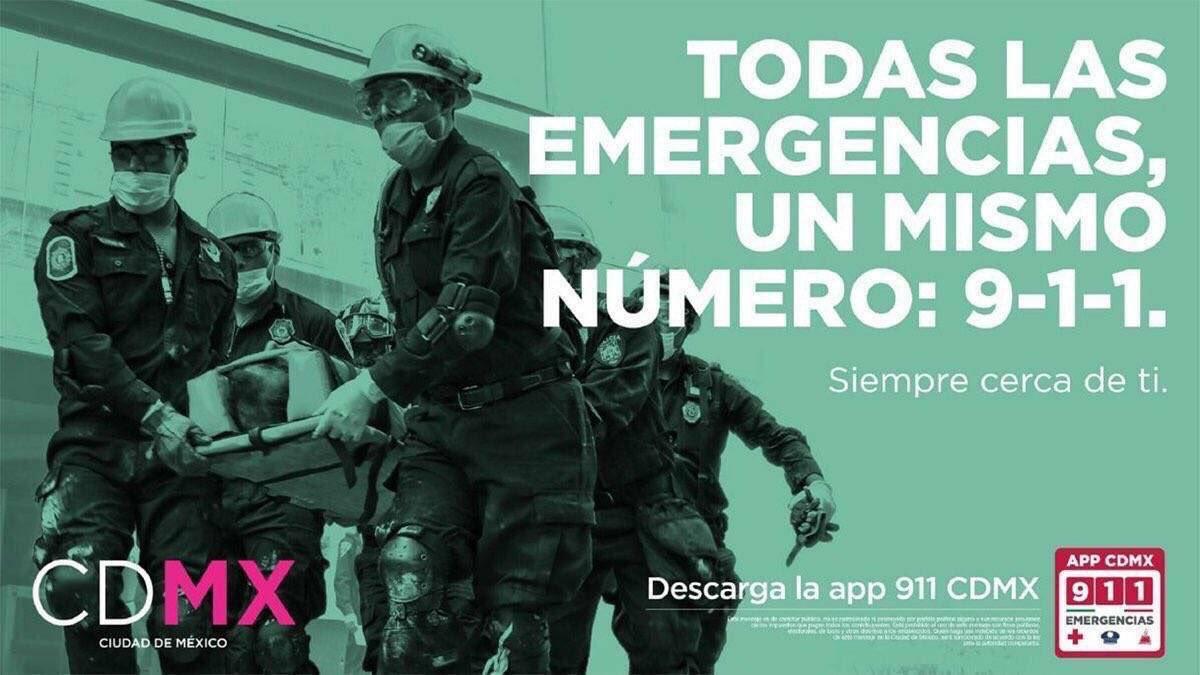 En caso de emergencia por #sismo, en el 9-1-1 @C5_CDMX solicita ayuda https://t.co/XgpgXaeJX8