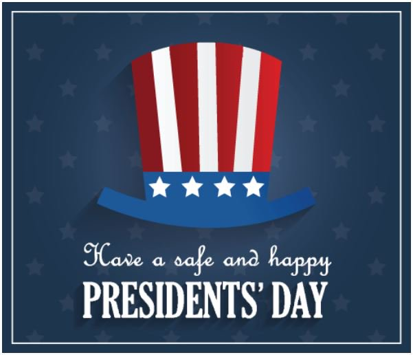 Image result for have a safe and happy presidents day