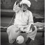 Image for the Tweet beginning: Jodhpur India.  Man with