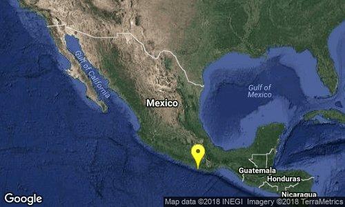 SISMO 7,2 GRADOS EN MEXICO, 16 DE FEBRERO 2018
