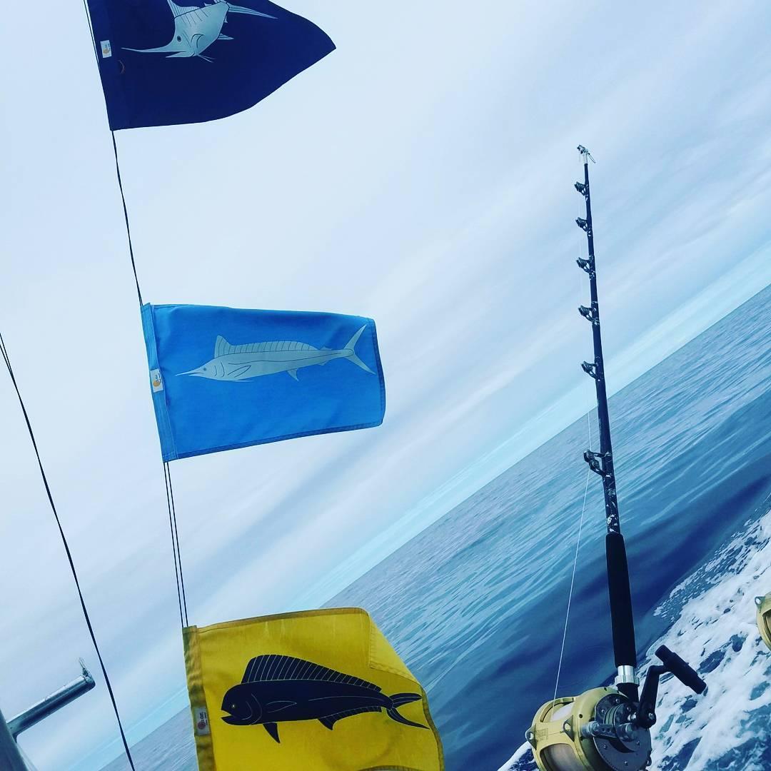 Kona, HI - High Flier caught a Blue Marlin (550) and a Spearfish.